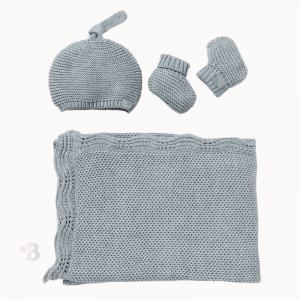 bamboo knit gift set
