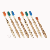 bamboo toothbrush 8 pack