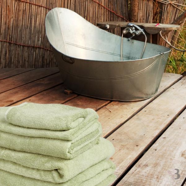 Organic Bamboo Bath Sheets 1