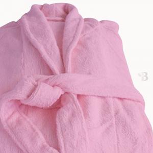 Bamboo Bathrobe - Bubblegum Pink