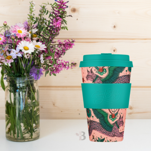 Bamboo Coffee Cup - Lynx