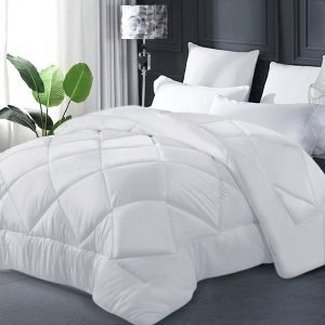 Bamboo Microfibre Quilt - White