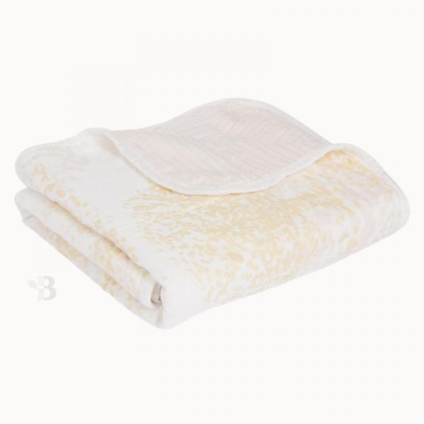 Bamboo Muslin Stroller Blanket - Primrose