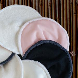 Bamboo Reusable Contoured Breast Pads