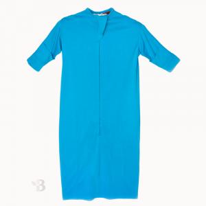 Bamboo Sleeping Bag - Turquoise Blue