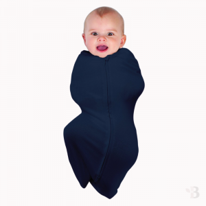 Bamboo Swaddle Pouch - Navy