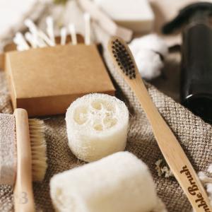 Bamboo Toothbrush - Blackberry