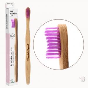 Bamboo Toothbrush - Grape