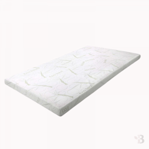 Memory Foam Mattress Topper Bamboo Cover - Single