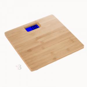 Natural Bamboo Bathroom Scales