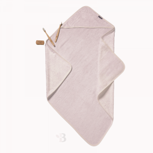 Bamboo Hooded Towel - Dusty Pink